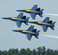 Blue Angels in Pensacola Florida