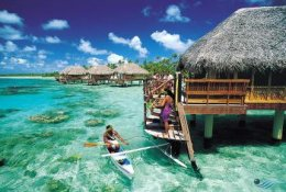 Tropical Beach Paradise of the Day Image